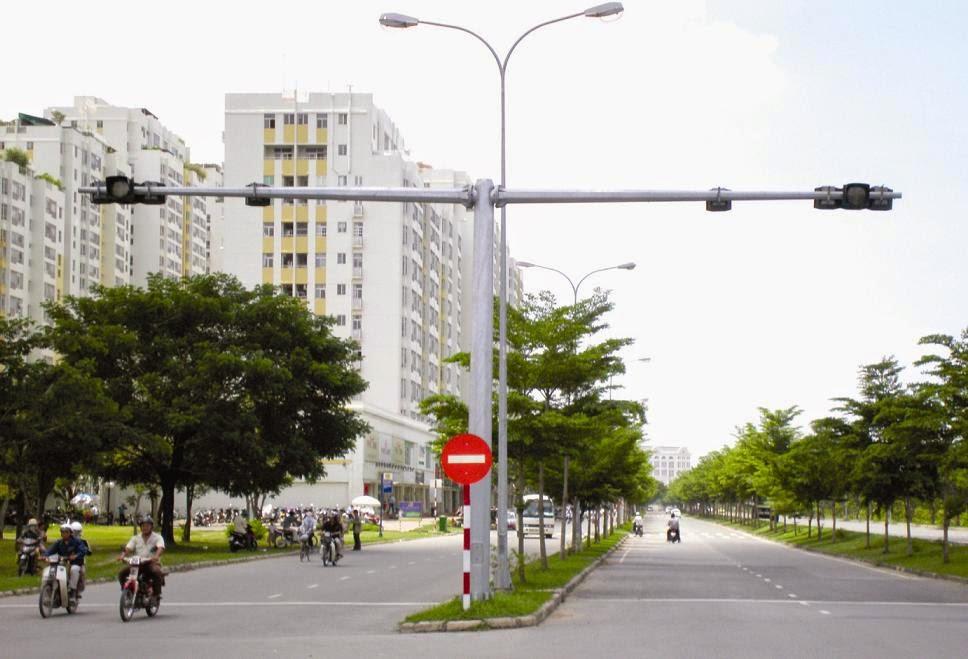 Trụ đèn giao thông