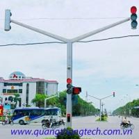 Trụ tín hiệu giao thông 2 nhánh