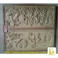Tranh gỗ khắc