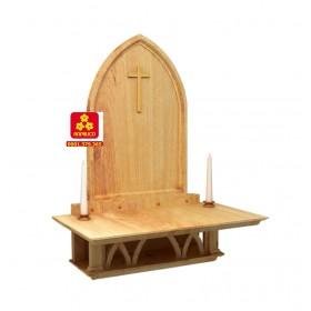 Bàn thờ Chúa bằng gỗ Sồi
