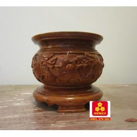 Bát hương bằng gỗ Hương
