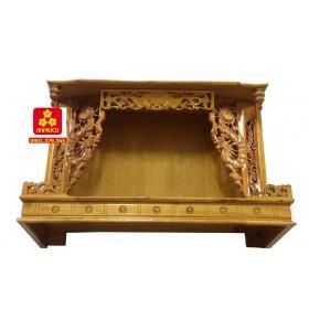 Trang thờ bằng gỗ Xoan Trắng