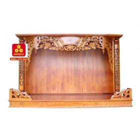 Trang thờ bằng gỗ Chàm
