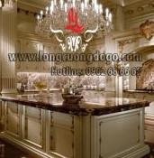 Tủ bếp cổ điển Châu Âu