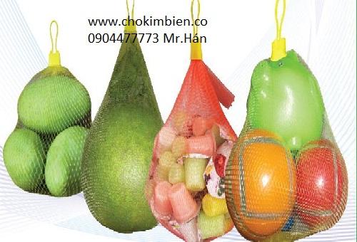 Túi lưới đựng trái cây