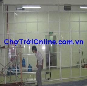 Vách ngăn PVC
