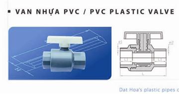 Van nhựa PVC