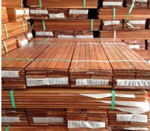 Ván sàn gỗ gõ đỏ nguyên thanh