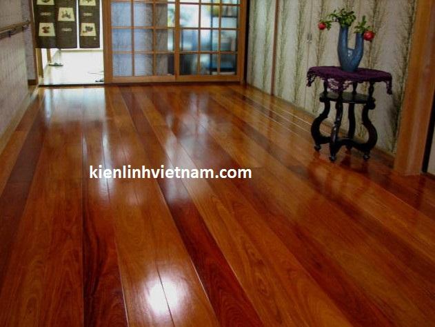Ván sàn gỗ hương tự nhiên nguyên thanh