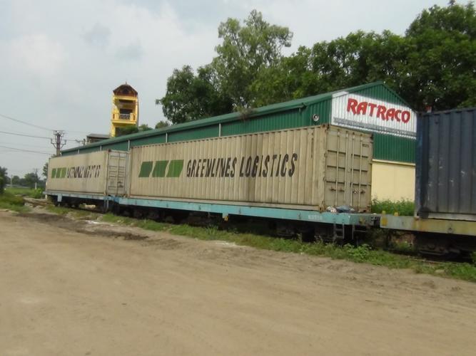 Vận tải hàng hóa bằng đường sắt