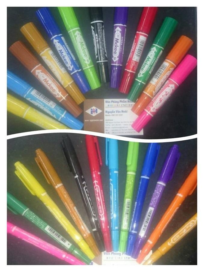 Bút dạ dầu nhiều màu HL08