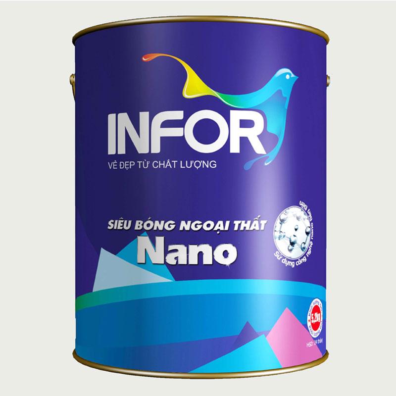 Sơn siêu bóng ngoại thất Nano