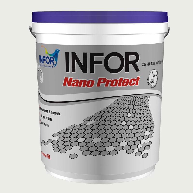Sơn siêu trắng nội thất Nano
