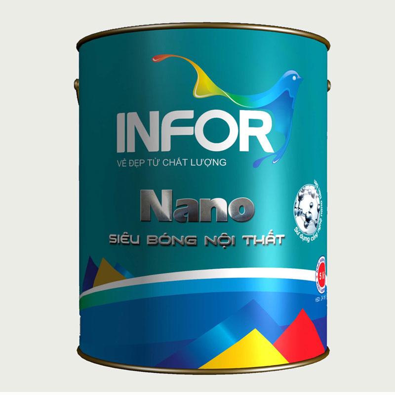 Sơn siêu bóng nội thất Nano