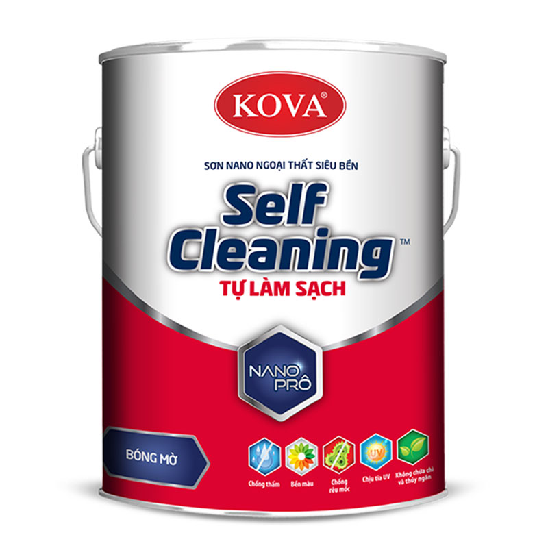 Sơn Self-Cleaning