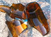 Vỏ chai phế liệu