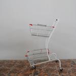 Xe đẩy siêu thị 2 tầng