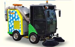 Xe quyét rác rửa đường
