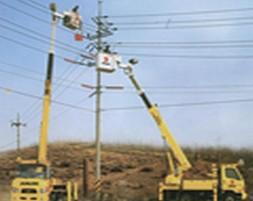 Xe thang sửa chữa điện